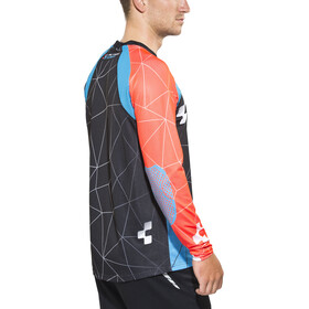 Cube Action Signature Jersey long Men black'n'blue'n'flashred